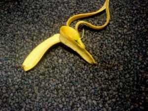 Hilft manchmal: Eine Banane