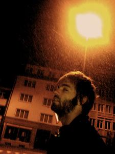 Unser Autor im Schnee