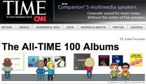 Das Time Magazine und CNN küren die 100 besten Platten ever