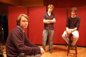 Lird van Goles: Mark, Simon, Björn (v.l.)