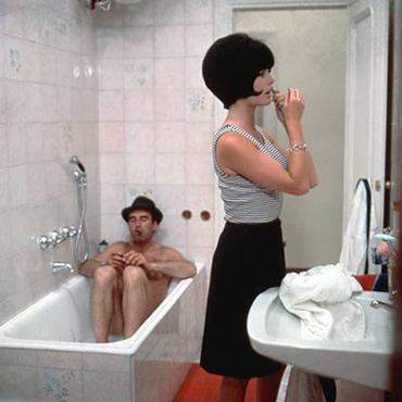 Michel Piccoli & Brigitte Bardot