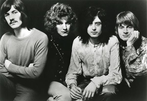 Reunion des Jahres, according to 78s-Leser: Led Zeppelin