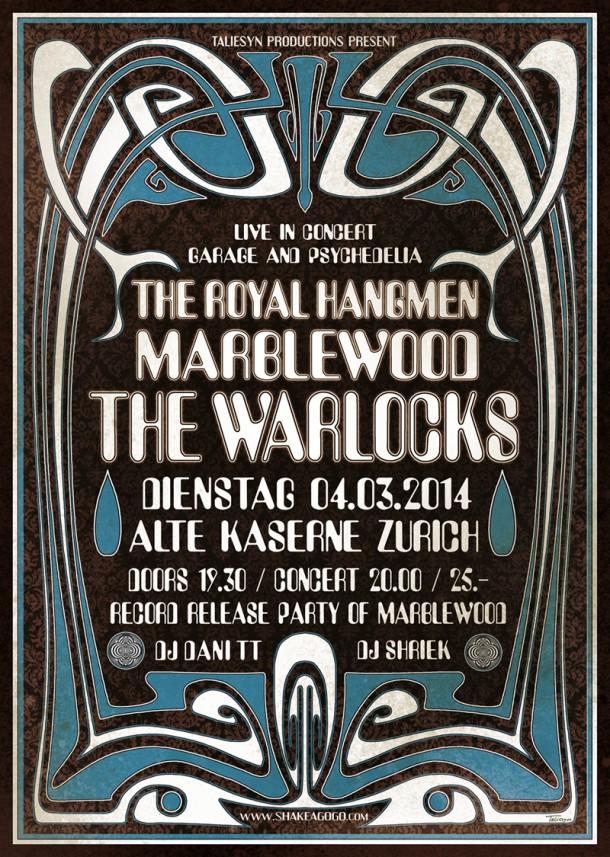 Warlocks Plakat